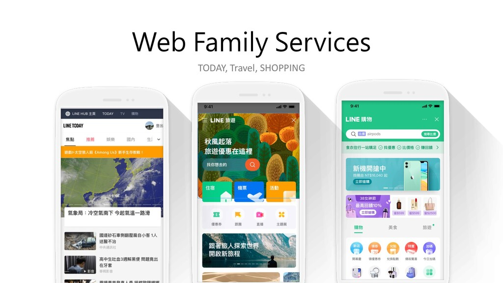 Web Family Services TODAY, Travel, SHOPPING