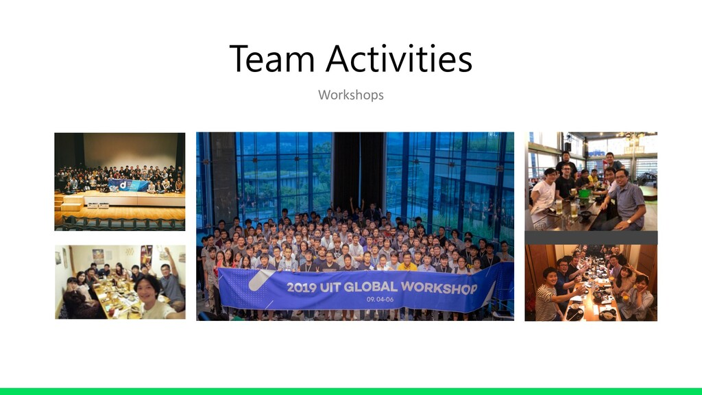Team Activities Workshops