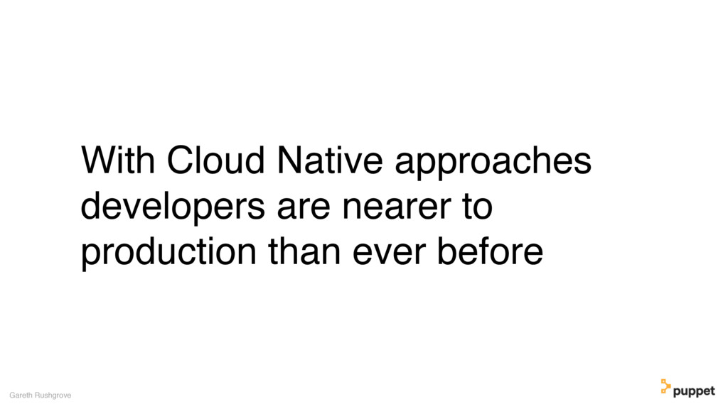 With Cloud Native approaches developers are nea...