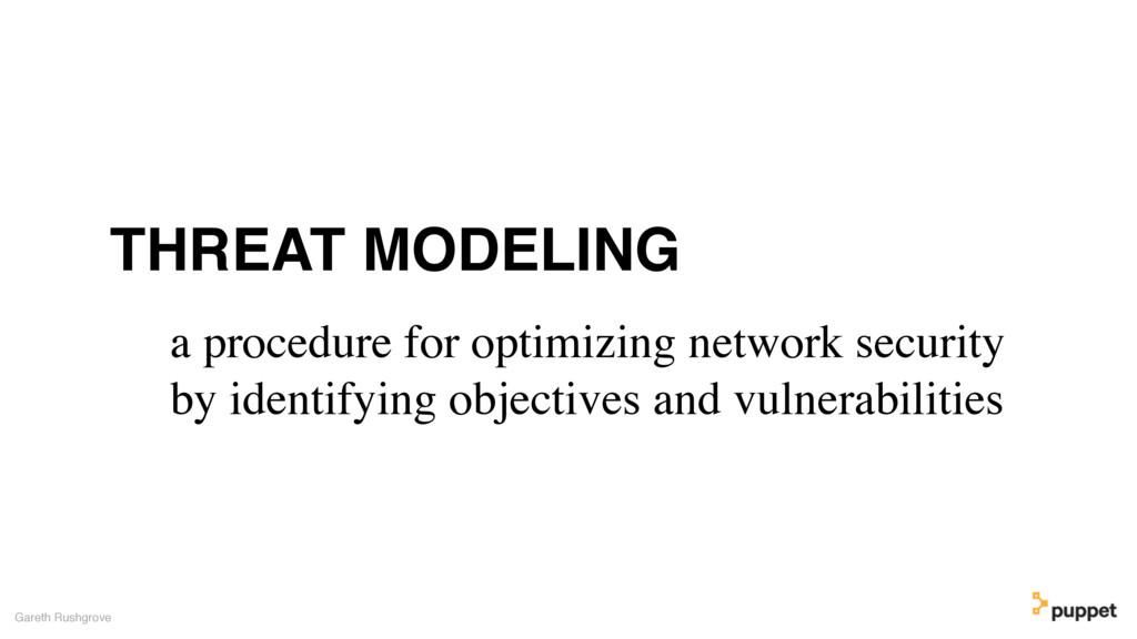 Gareth Rushgrove a procedure for optimizing net...