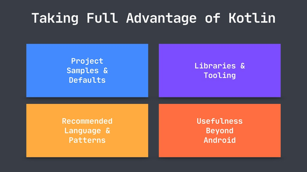 Taking Full Advantage of Kotlin Project   Sampl...