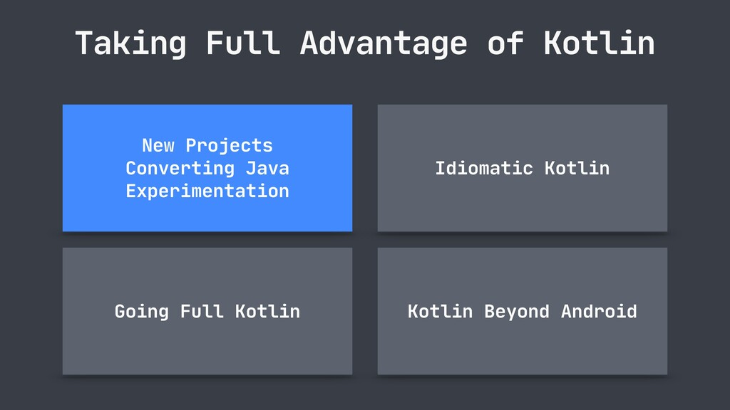 Taking Full Advantage of Kotlin Idiomatic Kotli...