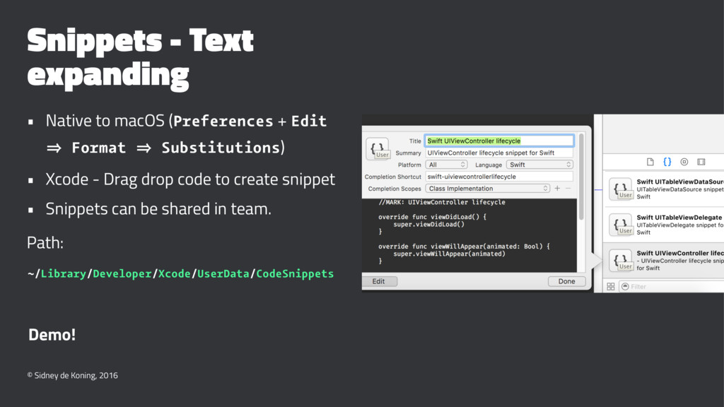 Snippets - Text expanding • Native to macOS (Pr...