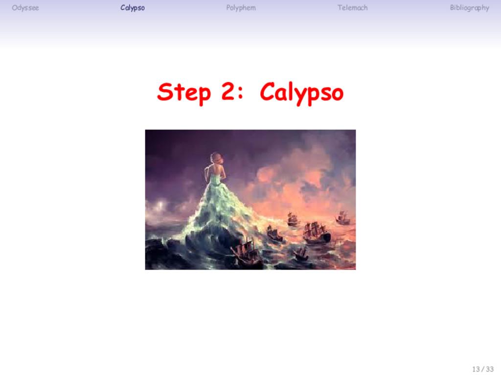 Odyssee Calypso Polyphem Telemach Bibliography ...