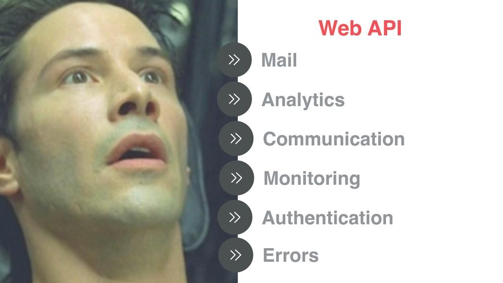 Web API Mail Analytics Communication Monitoring...
