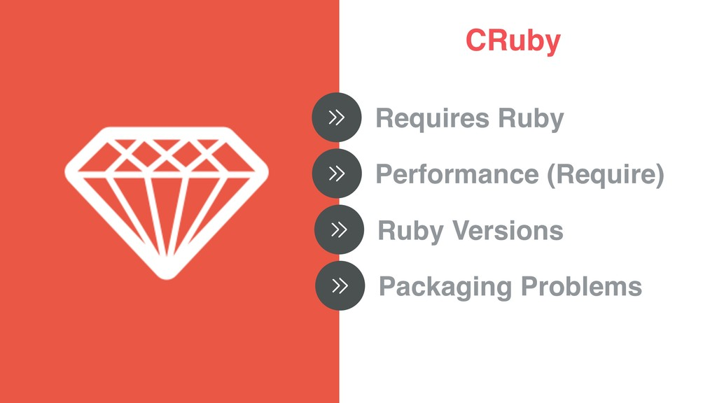CRuby Requires Ruby Performance (Require) Ruby ...
