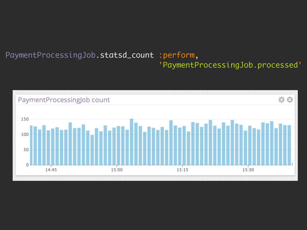PaymentProcessingJob.statsd_count :perform, 'Pa...