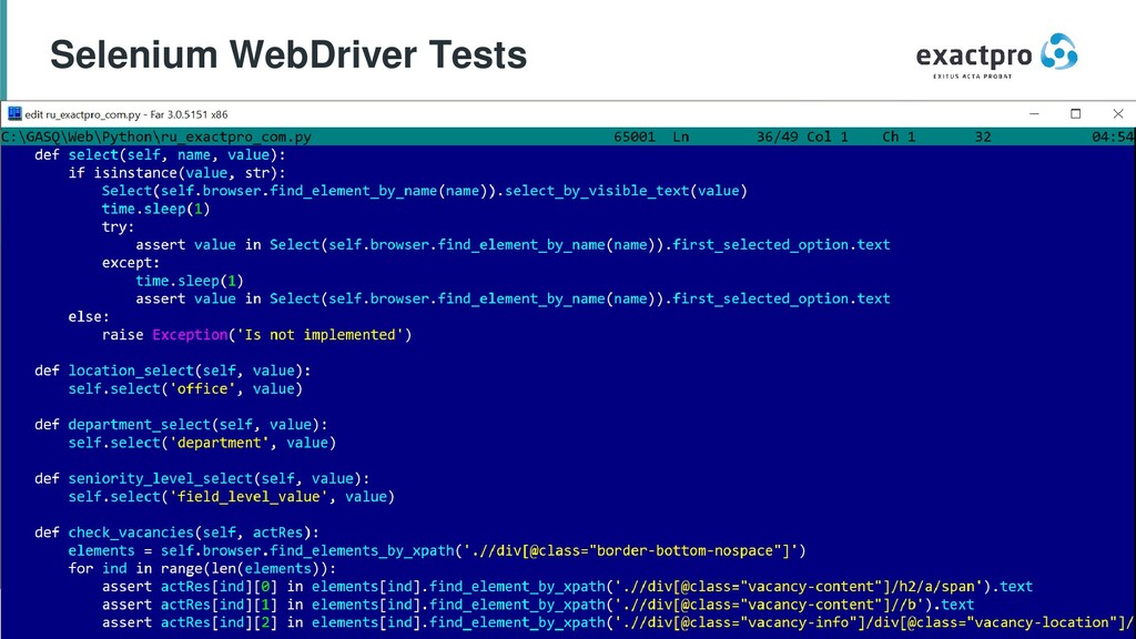 48 Build Software to Test Software exactpro.com...