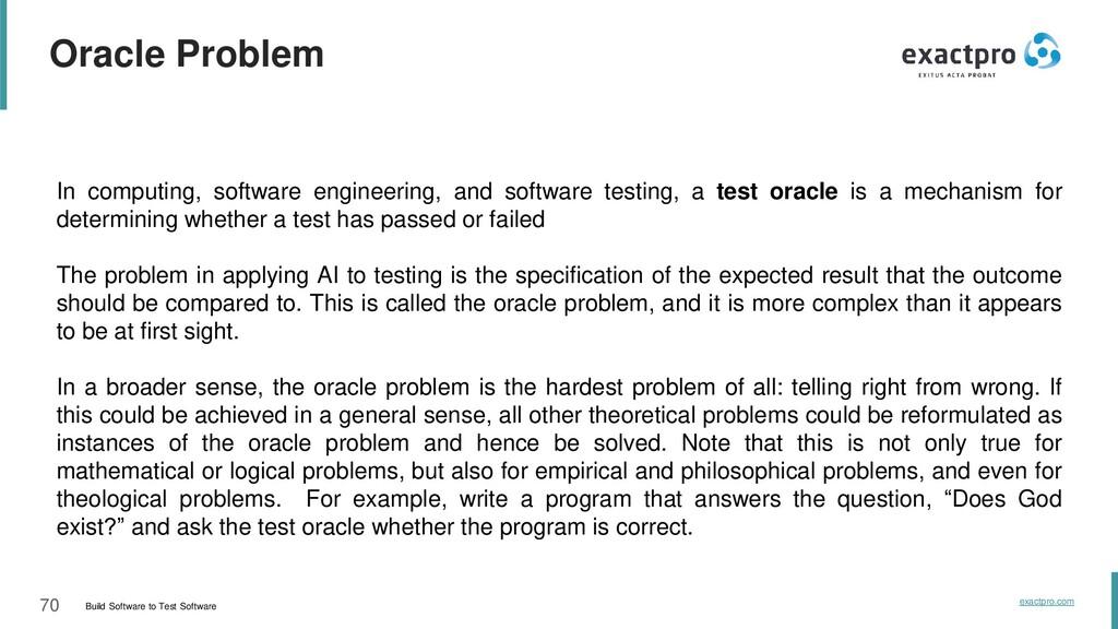70 Build Software to Test Software exactpro.com...