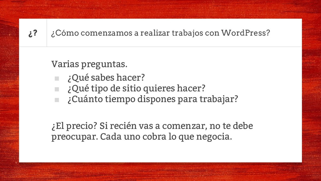 ¿Cómo comenzamos a realizar trabajos con WordPr...