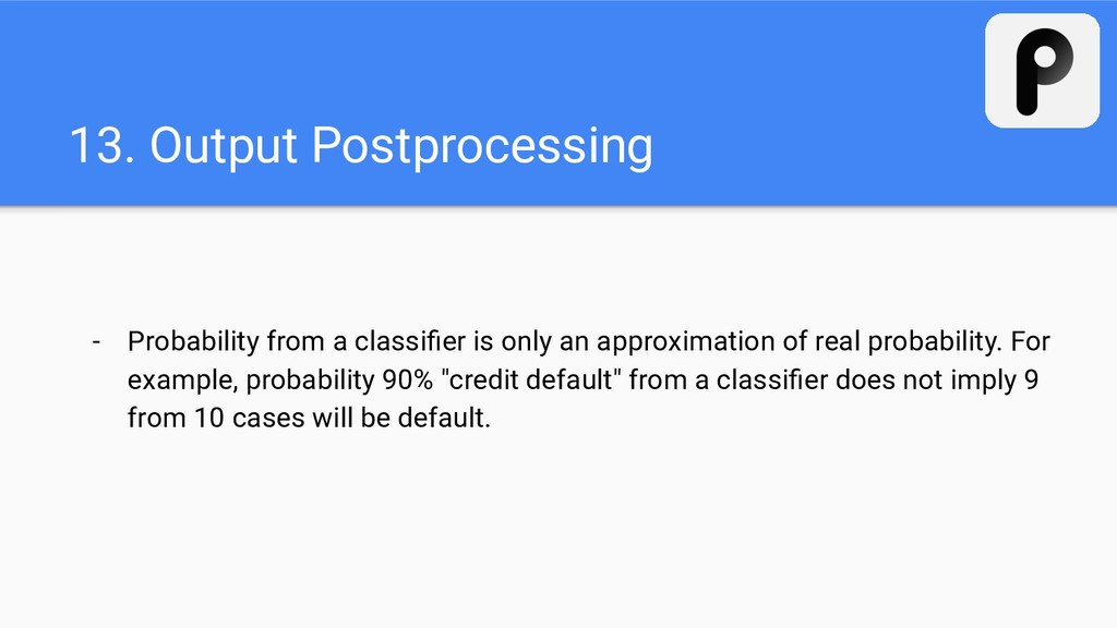 13. Output Postprocessing - Probability from a ...