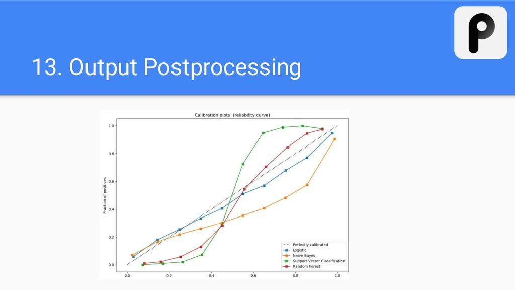 13. Output Postprocessing