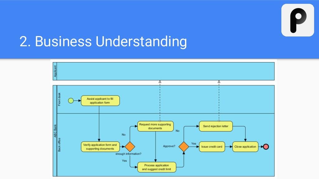 2. Business Understanding