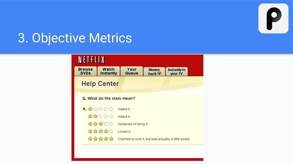 3. Objective Metrics