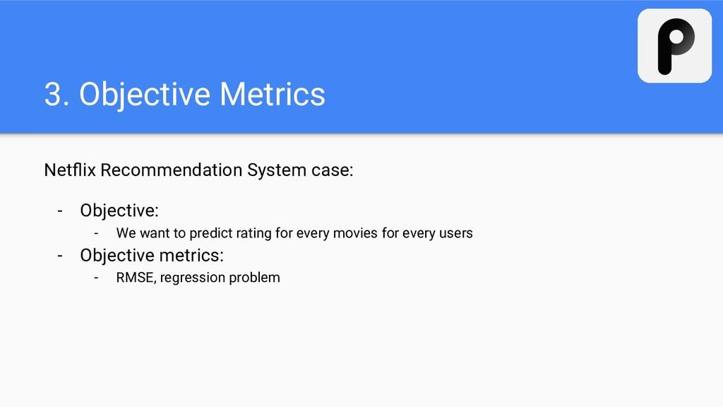 3. Objective Metrics Netflix Recommendation Syst...