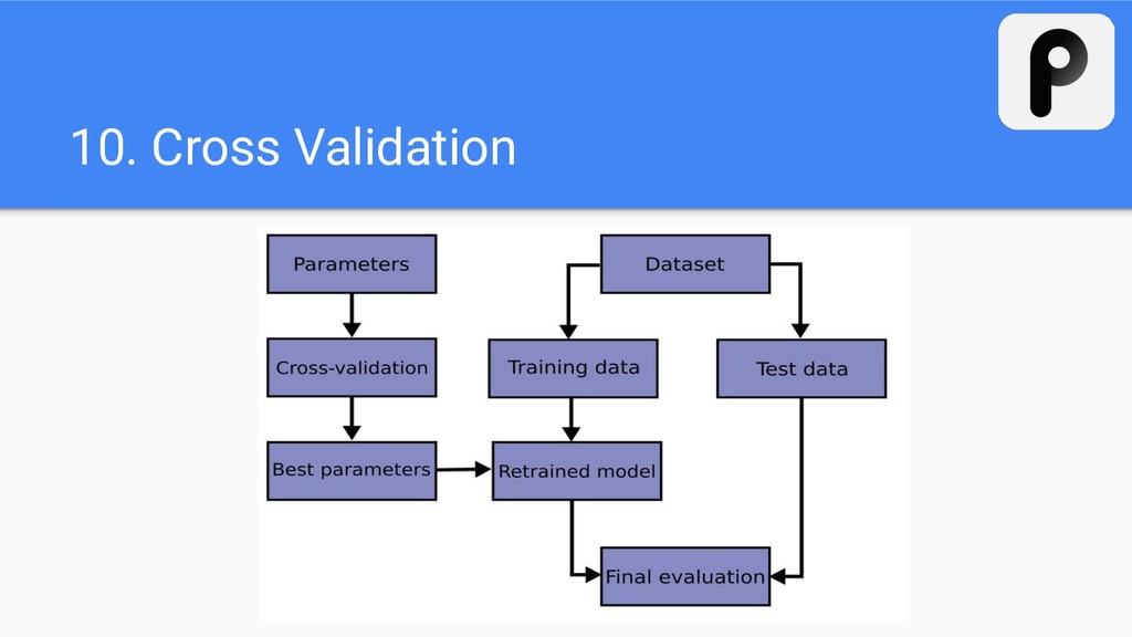 10. Cross Validation