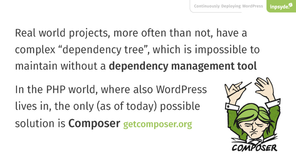 Continuously Deploying WordPress Real world pro...