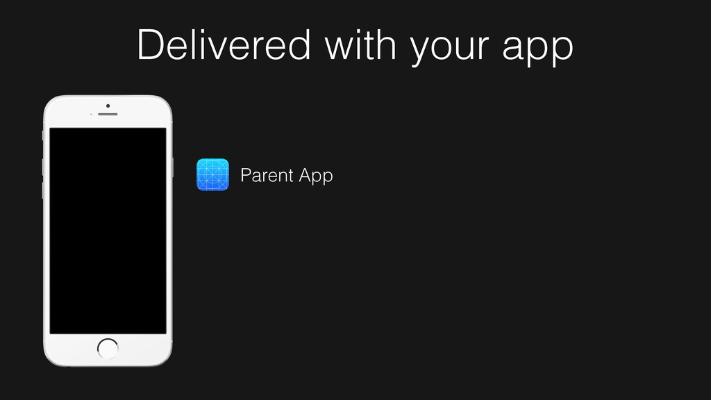 Parent App Delivered with your app