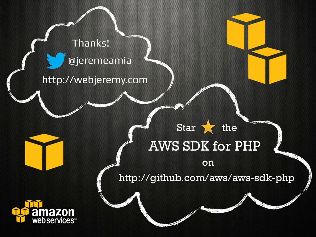 @jeremeamia! http://webjeremy.com! Thanks!! htt...