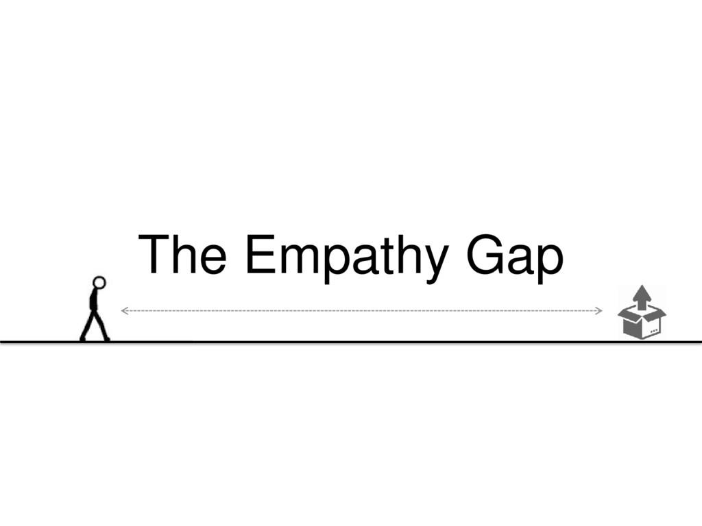 The Empathy Gap