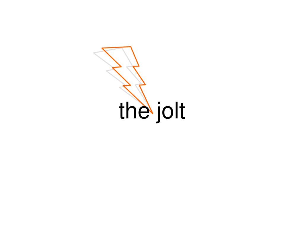 the jolt