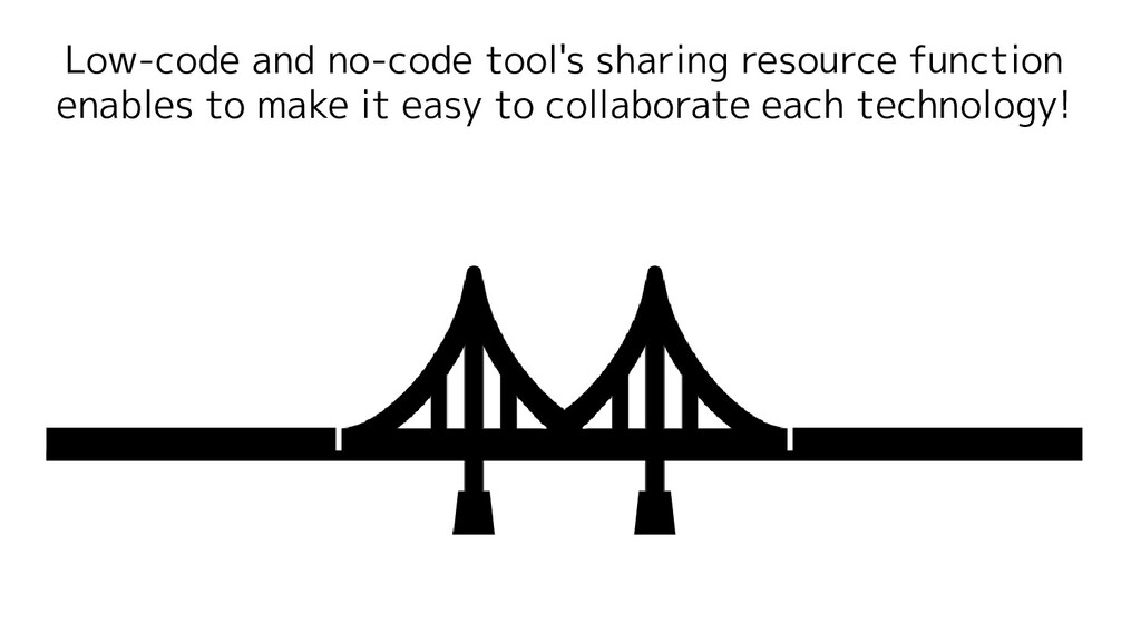 Low-code and no-code tool's sharing resource fu...