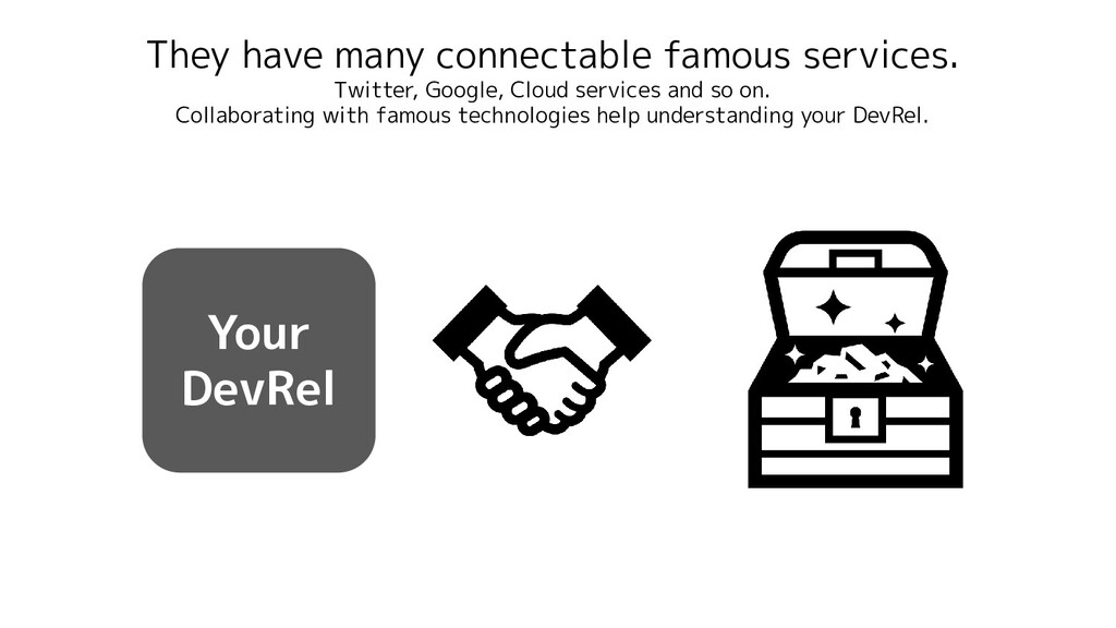 They have many connectable famous services. Twi...