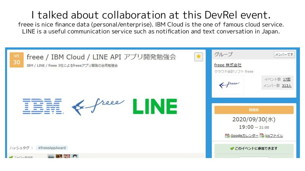 I talked about collaboration at this DevRel eve...