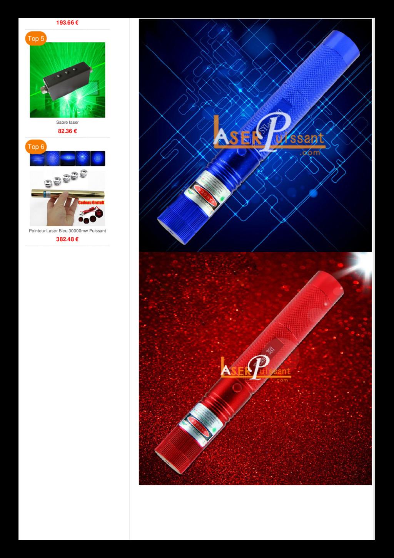 193.66 € Sabre laser 82.36 € Top 5 Pointeur Las...