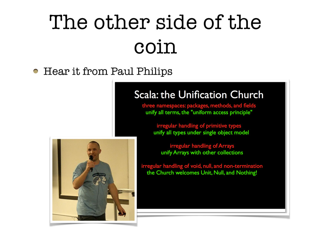 Hear it from Paul Philips The other side of the...