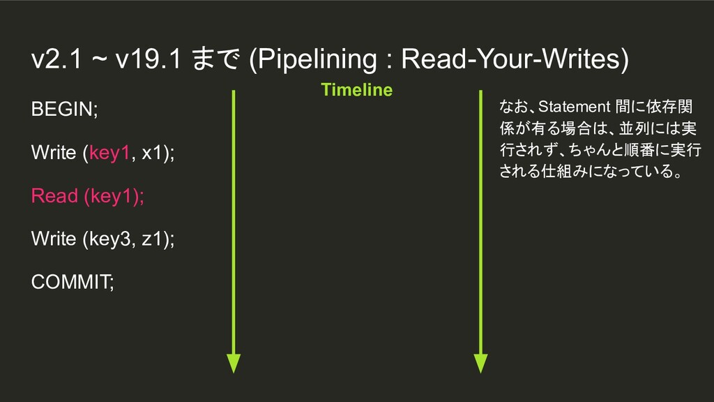 BEGIN; Write (key1, x1); Read (key1); Write (ke...