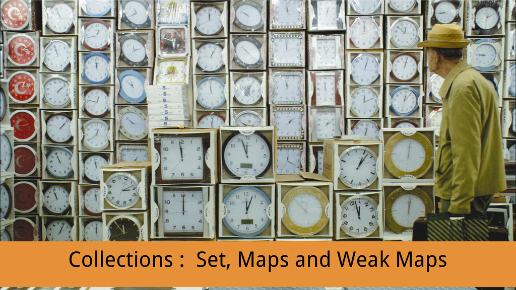 Collections : Set, Maps and Weak Maps