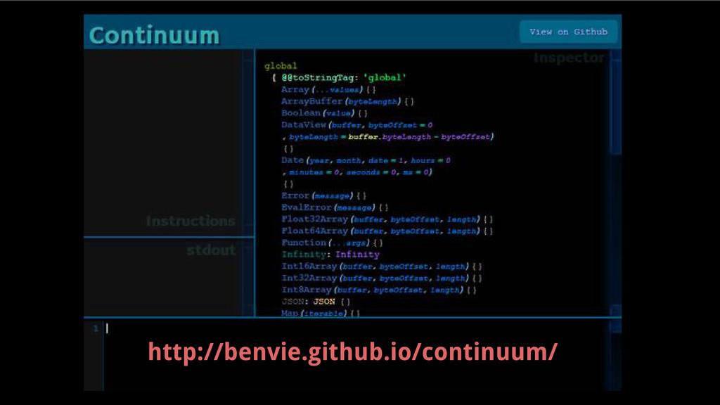 http://benvie.github.io/continuum/