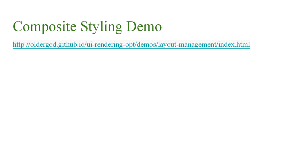 Composite Styling Demo http://oldergod.github.i...