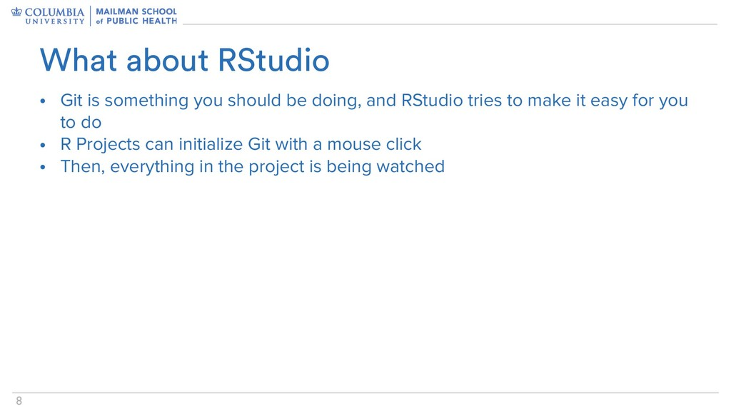 !8 • Git is something you should be doing, and ...