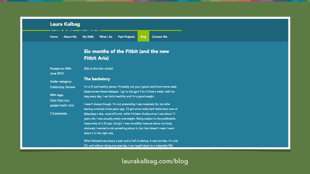 laurakalbag.com/blog