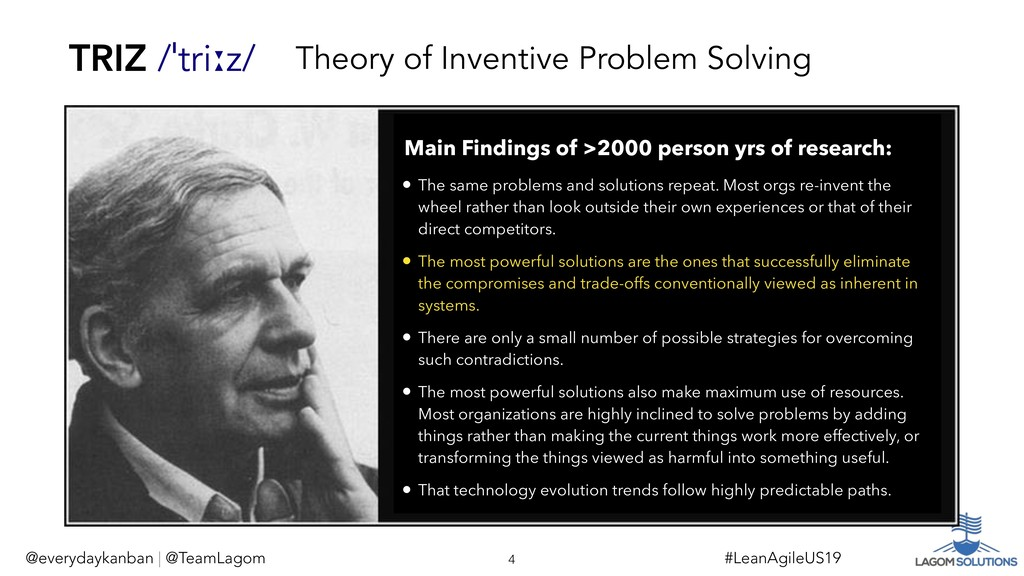 Theory of Inventive Problem Solving @everydayka...