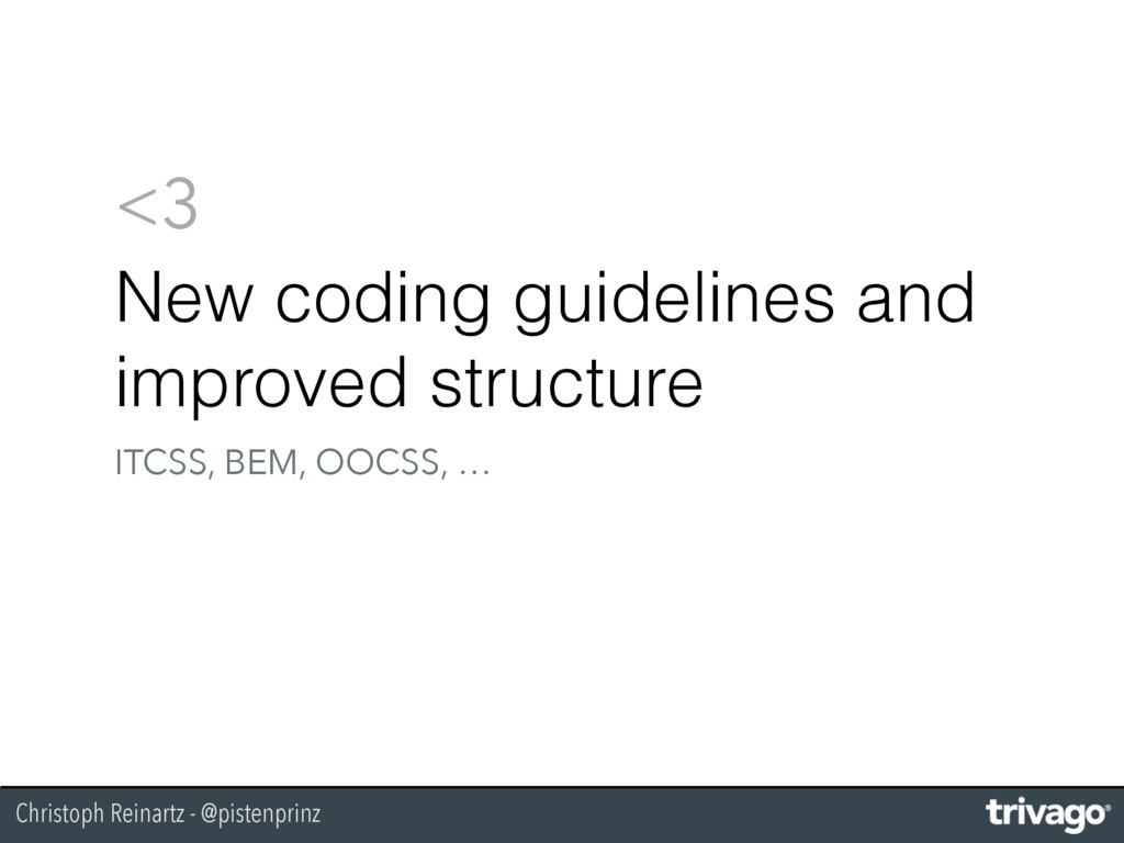 Christoph Reinartz - @pistenprinz <3 New coding...