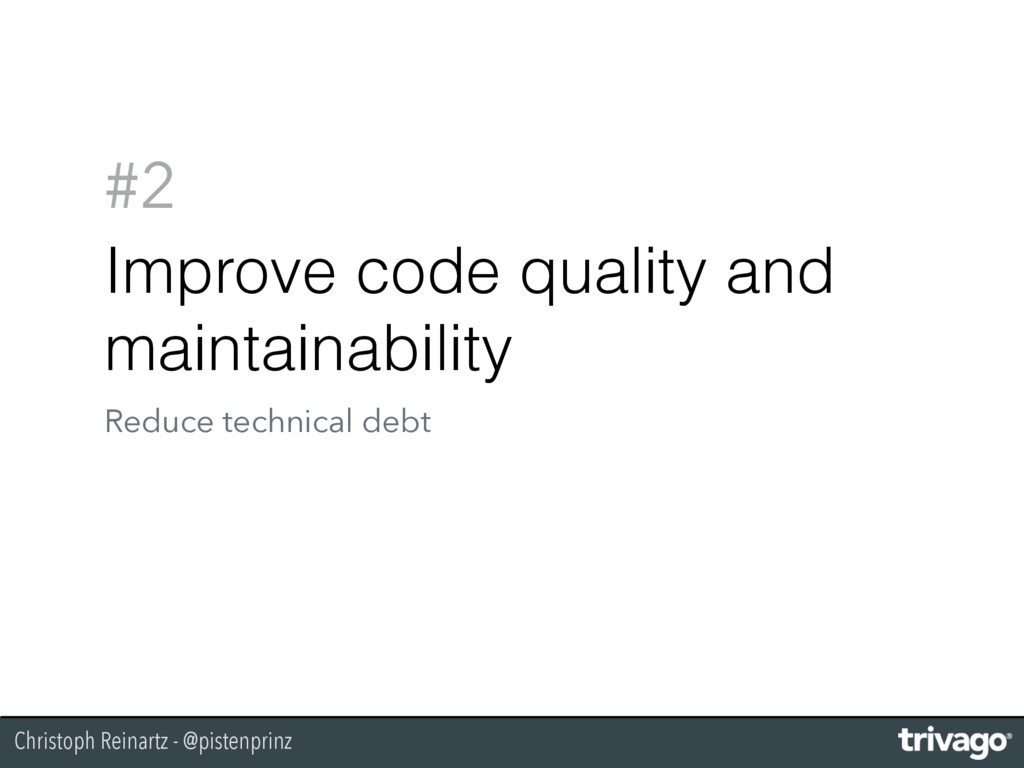 Christoph Reinartz - @pistenprinz #2 Improve co...