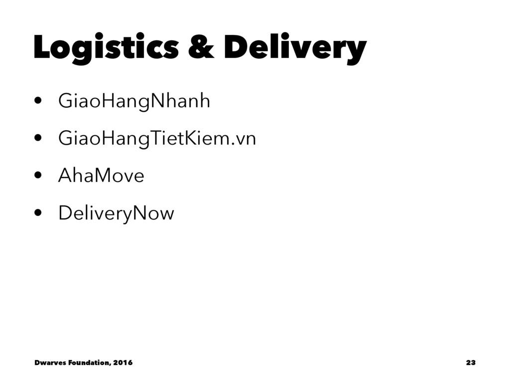 Logistics & Delivery • GiaoHangNhanh • GiaoHang...
