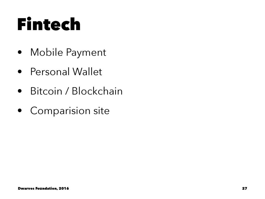 Fintech • Mobile Payment • Personal Wallet • Bi...