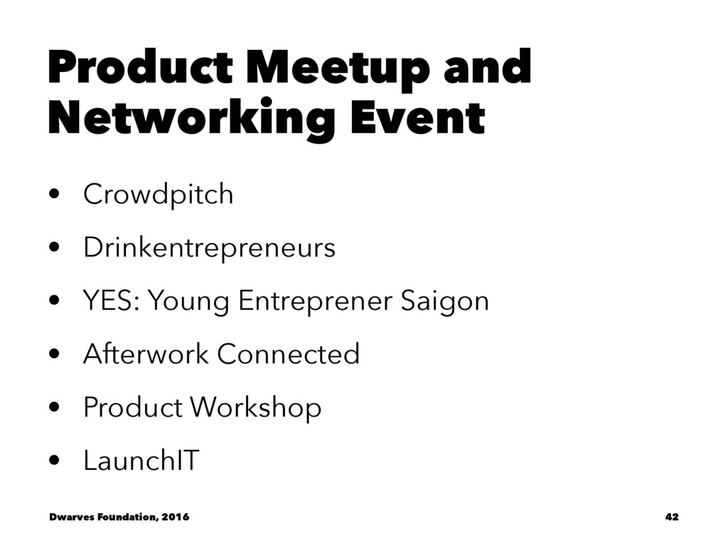 Product Meetup and Networking Event • Crowdpitc...