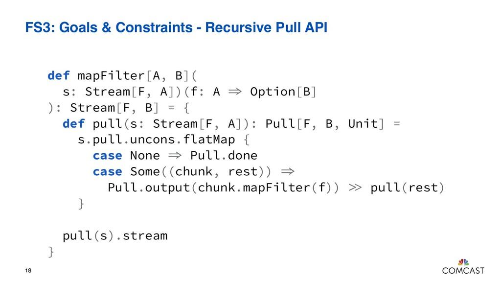 FS3: Goals & Constraints - Recursive Pull API 1...