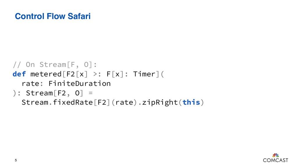 Control Flow Safari 5 // On Stream[F, O]: def m...