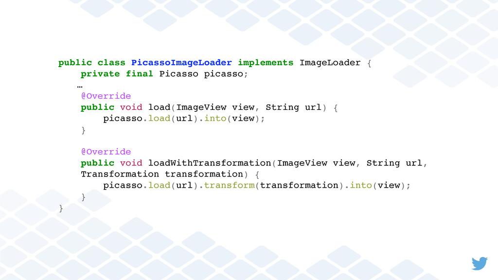 public class PicassoImageLoader implements Imag...