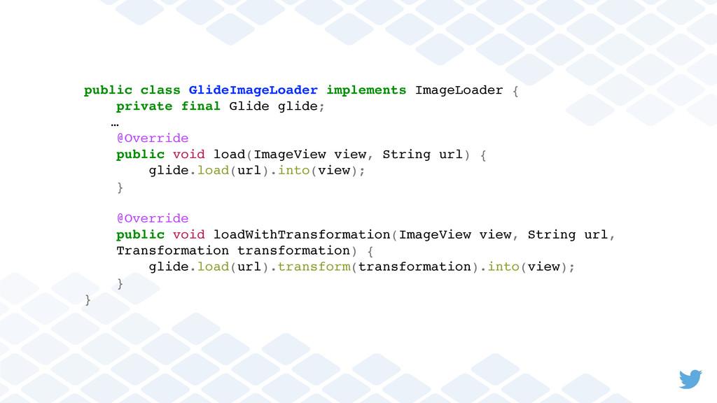 public class GlideImageLoader implements ImageL...