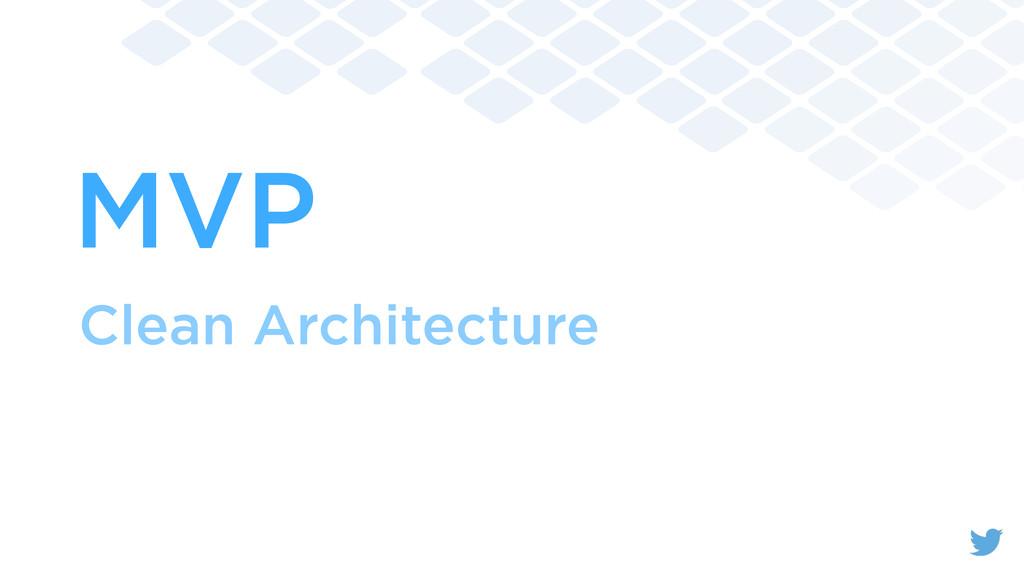 MVP Clean Architecture
