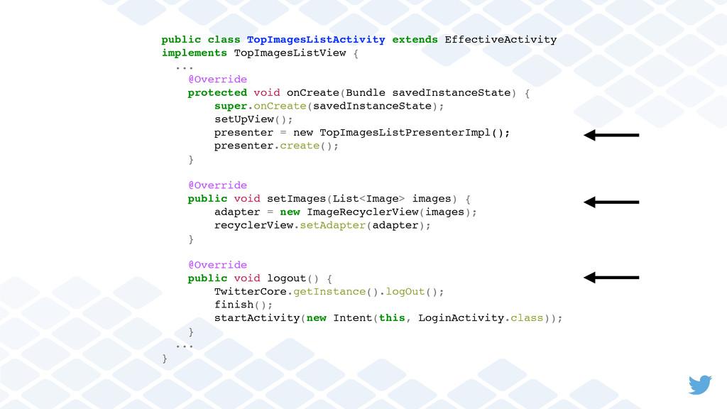 public class TopImagesListActivity extends Effe...