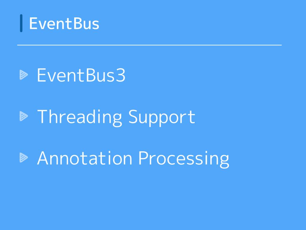 EventBus EventBus3 Threading Support Annotation...