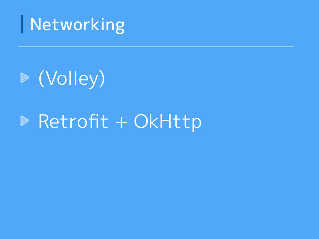 (Volley) Retrofit + OkHttp Networking